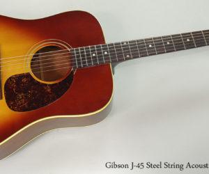 1968 Gibson J-45 Steel String Acoustic