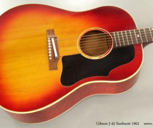 1962 Gibson J45 Sunburst (consignment) NO LONGER AVAILABLE