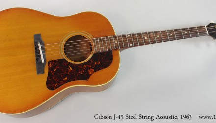 Gibson-J-45-Steel-String-Acoustic-1963-Full-Front-View