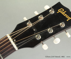 1963 Gibson J-50 Natural (consignment) SOLD