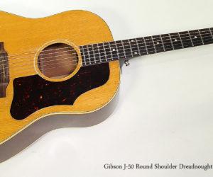 SOLD - 1962 Gibson J-50 Slope Shoulder Dreadnought Steel String