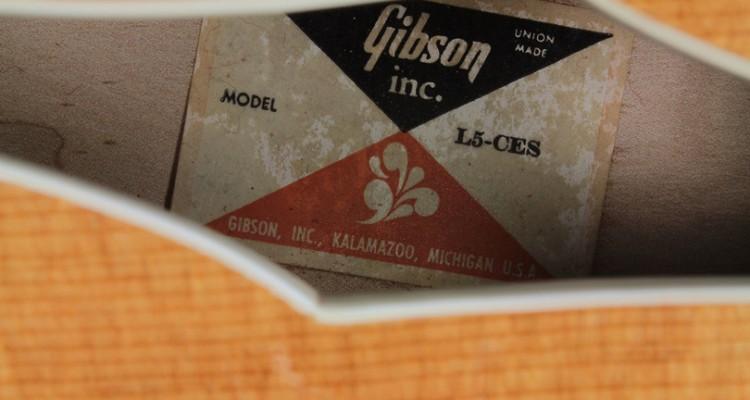 Gibson-L5-CES-1983-label