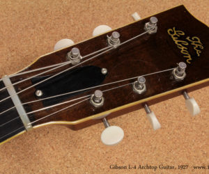 1927 Gibson L-4 Archtop Guitar  SOLD
