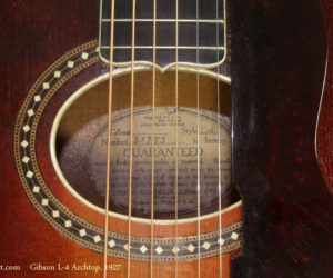 1927 Gibson L-4 Archtop (consignment) NO LONGER AVAILABLE