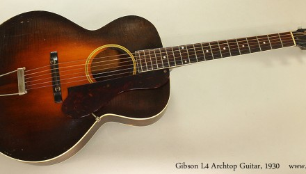 Gibson-L4-Archtop-Guitar-1930-Full-Front-View
