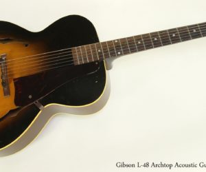 Gibson L-48 Archtop Acoustic Guitar, 1952