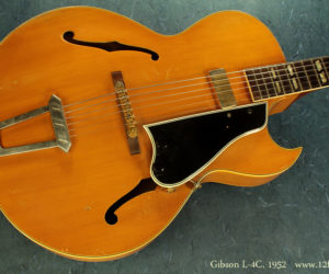 Gibson L-4C Archtop, 1952 (consignment) Sold