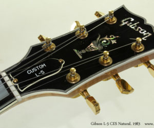 1983 Gibson L-5 CES Archtop (consignment)  SOLD