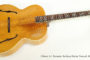 SOLD!!! 1939 Gibson L-7 Acoustic Archtop Guitar Natural