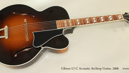 Gibson-L7-C-Acoustic-Archtop-Guitar-2006-Full-Front-View