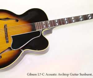 NO LONGER AVAILABLE!!! Gibson L7-C Acoustic Archtop Guitar Sunburst, 1968