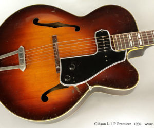 1950 Gibson L-7 P Premiere Cutaway Archtop (consignment) NO LONGER AVAILABLE