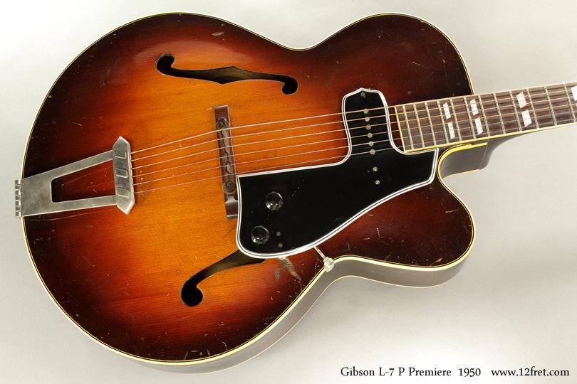 1950 Gibson L 7 P Premiere Cutaway Archtop Www 12fret Com