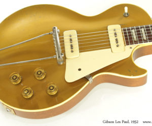 1952 Gibson Les Paul Gold Top (consignment)