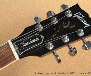 2001 Gibson Les Paul Standard Sunburst (consignment) No Longer Available