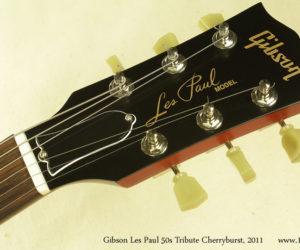 2011 Cherryburst Gibson Les Paul 50s Tribute  (consignment) SOLD