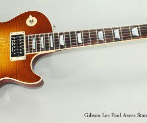 SOLD!!! 2008 Gibson Les Paul Axess Standard Sunburst