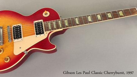 Gibson-Les-Paul-Classic-Cherryburst-1997-Full-Front-View