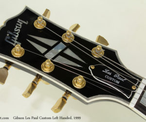 1999 Gibson Les Paul Custom Left Handed (consignment)  SOLD