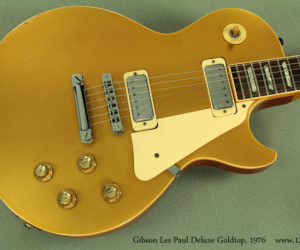 Gibson Les Paul Deluxe Goldtop, 1976 SOLD