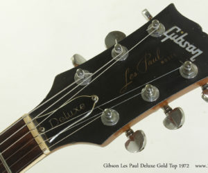 1972 Gibson Les Paul Deluxe Gold Top (consignment)  SOLD