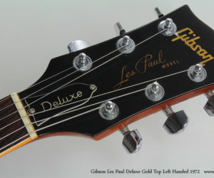 1972 Left-Handed Gibson Les Paul Deluxe  SOLD