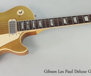 1976 Gibson Les Paul Deluxe Gold Top (SOLD)