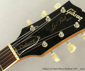 Sunburst 1972 Gibson Les Paul Deluxe (consignment)  SOLD