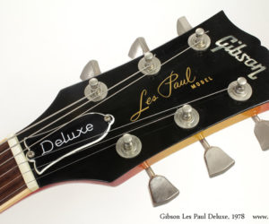 1978 Les Paul Deluxe Sunburst (consignment) SOLD