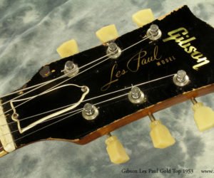 1953 Gibson Les Paul Gold Top (consignment) SOLD