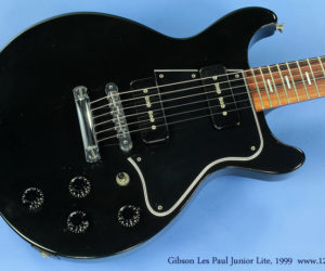 Gibson Les Paul Junior Lite, 1999 (consignment) SOLD
