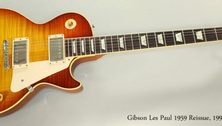 Gibson-Les-Paul-1959-Reissue-1999-Full-Front-View