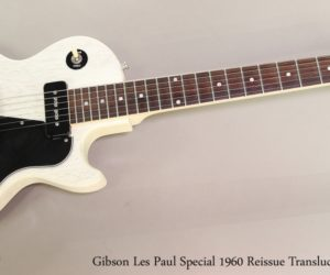 ❌ SOLD ❌ Gibson Les Paul Special 1960 Reissue Translucent White, 2004