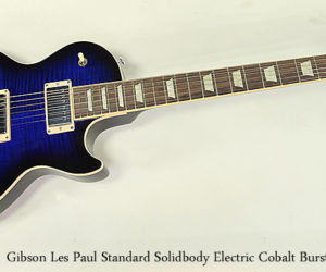 SOLD!!! Gibson Les Paul Standard Solidbody Electric Cobalt Burst 2018