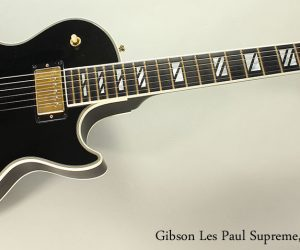 NO LONGER AVAILABLE!!! 2004 Gibson Les Paul Supreme, Black