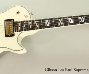 NO LONGER AVAILABLE!!! 2005 Gibson Les Paul Supreme White