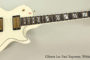 NO LONGER AVAILABLE!!! 2005 Gibson Les Paul Supreme White