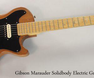 1978 Gibson Marauder Solidbody Electric Guitar (NO LONGER AVAILABLE)
