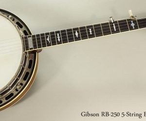 1980 Gibson RB-250 5-String Banjo (SOLD)