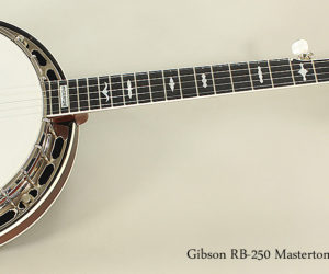 SOLD!!! 2005 Gibson Mastertone RB-250 Banjo