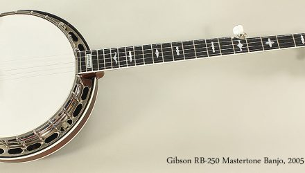 Gibson-RB-250-Mastertone-Banjo-2005-Full-Front-View