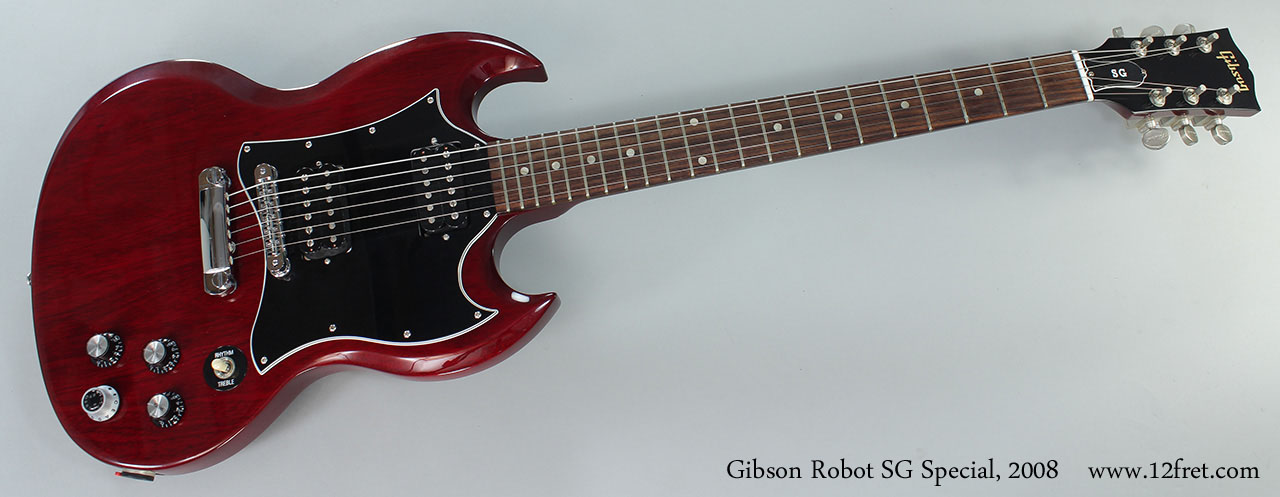 2008 Gibson Robot SG Special SOLD | www 12fret com