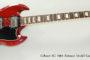 2012 Gibson SG 1961 Reissue Model Guitar  SOLD