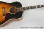1957 Gibson SJ  SOLD
