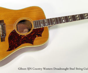 1964 Gibson SJN Country Western Dreadnought Steel String Guitar