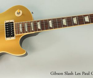 NO LONGER AVAILABLE! 2008 Gibson Slash Les Paul Goldtop