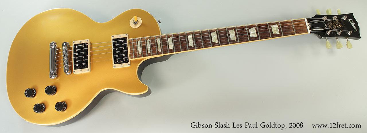 Slash Goldtop Les Paul : 2008 gibson slash les paul goldtop ~ Hamham.info Haus und Dekorationen