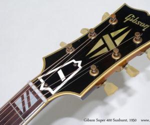 1950 Gibson Super 400 Sunburst (consignment) SOLD