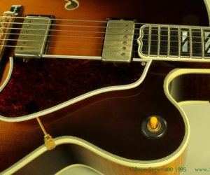 Gibson Super 400 CES 1995  (consignment)  SOLD