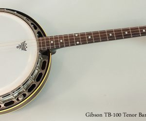 1949 Gibson TB-100 Tenor Banjo  SOLD
